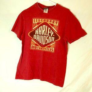 Harley Davidson tee.